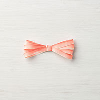 coral pink ombre ribbon