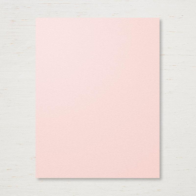 """Powder Pink 8-1/2"""" x 11"""" Cardstock"""