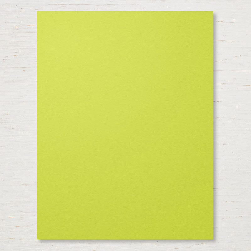 "Lemon Lime Twist 8 1/2x11"" Card Stock"