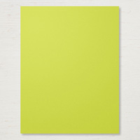 bright yellow cardstock