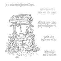 Puits d'espoir Clear-Mount Stamp Set (French)