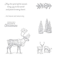 Nature Sings Clear-Mount Stamp Set