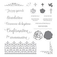 Événements spirituels Photopolymer Stamp Set (French)