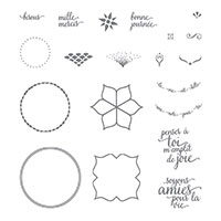 Beauté de l'Orient Photopolymer Stamp Set (French)