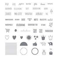 Onglets pour tout Photopolymer Stamp Set (French)