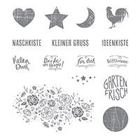 Kreativkiste Clear-Mount Stamp Set (German)