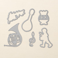 Musical Instruments Framelits Dies