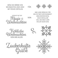 Winterwunder Clear-Mount Stamp Set (German)