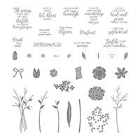 Boeket vol goede wensen Photopolymer Stamp Set (Dutch)