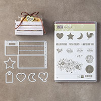 Wood Words Clear-Mount Bundle