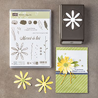 Adorable marguerite Photopolymer Bundle (French)
