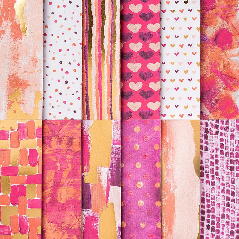 Peint avec du papier Love Specialty Designer Series