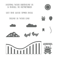 Let the Good Times Roll Photopolymer Stamp Set