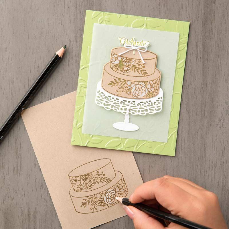 Cake Soirée Clear-Mount Stamp Set
