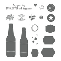 bubble bottle stamp set