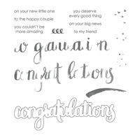 congratulations stamp set