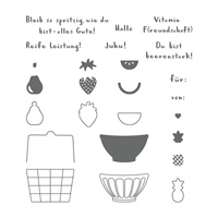 Gute-Laune-Korb Photopolymer Stamp Set (German)