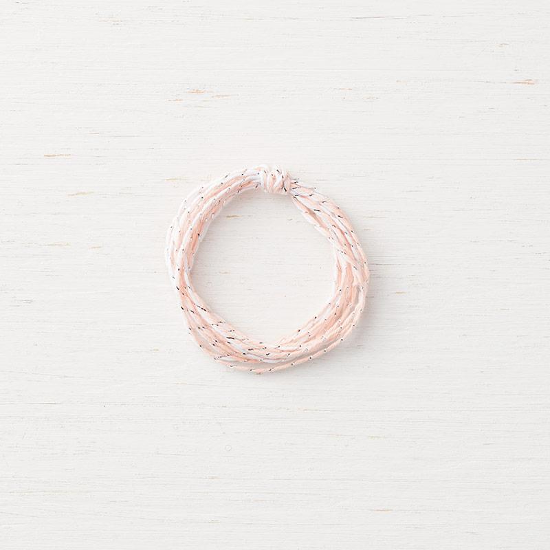 Silver & Petal Pink Baker's Twine