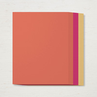 orange, pink, and yellow paper pack