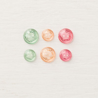 Tinted Faceted Buttons