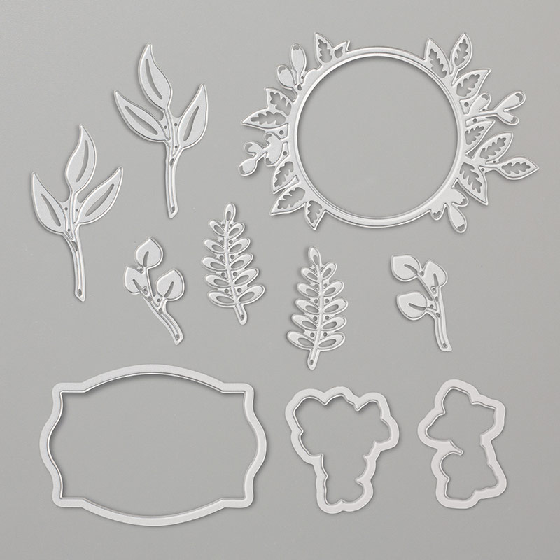 Foliage Frame Framelits Dies