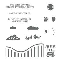 Vie trépidante Photopolymer Stamp Set (French)