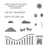 Hochgefühle Photopolymer Stamp Set (German)