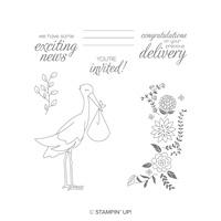 new baby stamp set