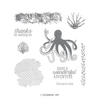 Sea Of Textures Wood-Mount Stamp Set
