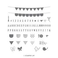 pennant stamp set