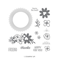 flowers happy stamps