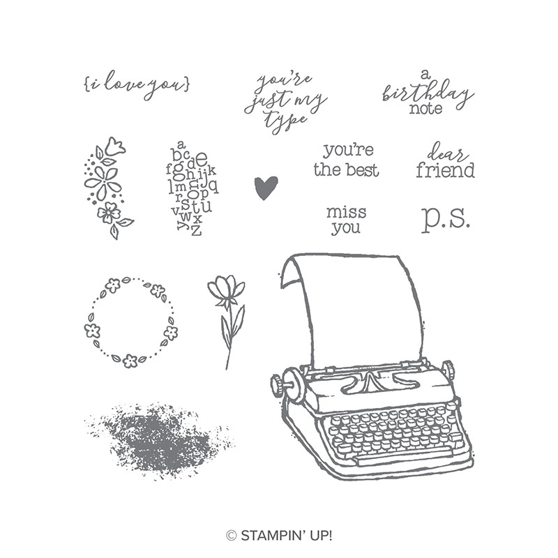 P.S. You're The Best Clear-Mount Stamp Set