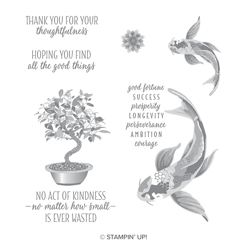 All The Good Things Clear-Mount Stamp Set