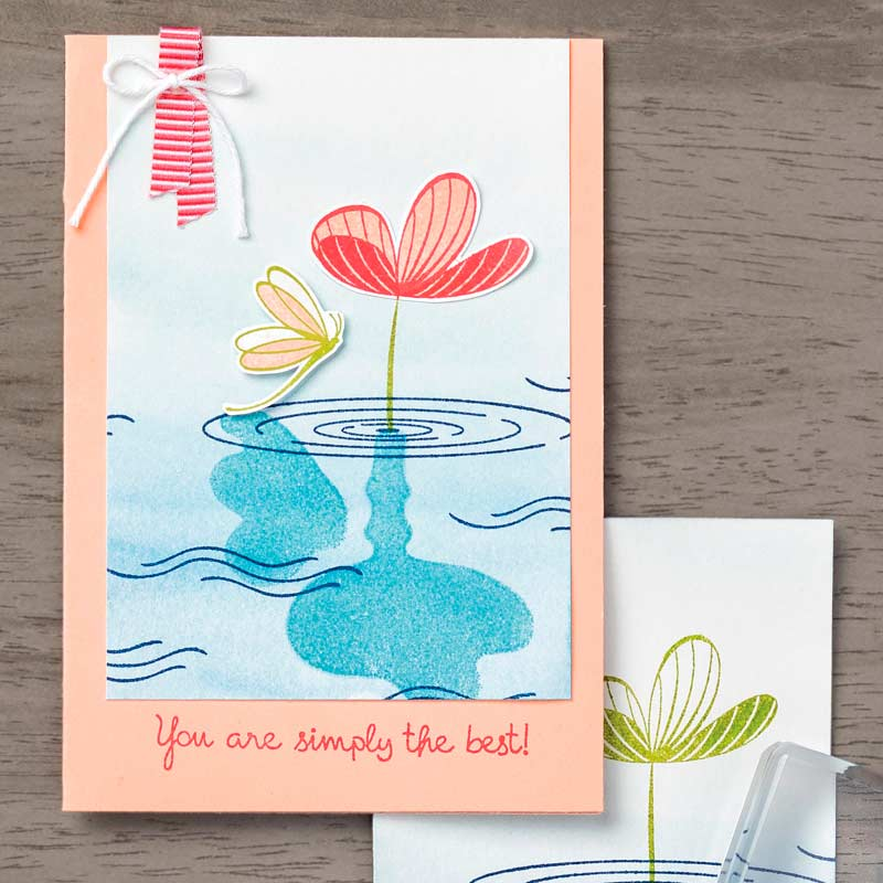 Peaceful Reflection Photopolymer Stamp Set