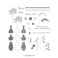 vases stamp set