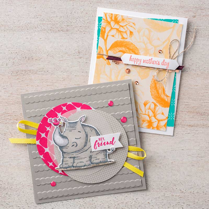 Itty Bitty Greetings Clear-Mount Stamp Set