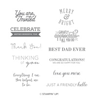 celebration stamp set