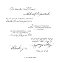 sympathy message stamps