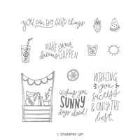 summer days stamp set