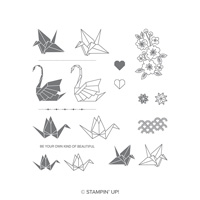 Artfully Folded Photopolymer Stamp Set