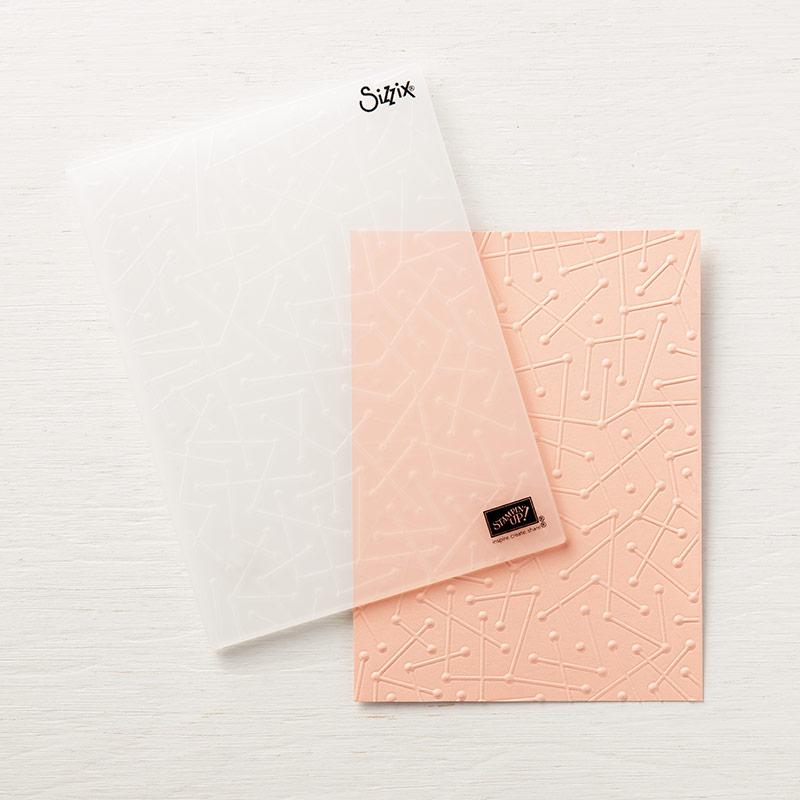 Maps Etc. Textured Impressions Embossing Folder