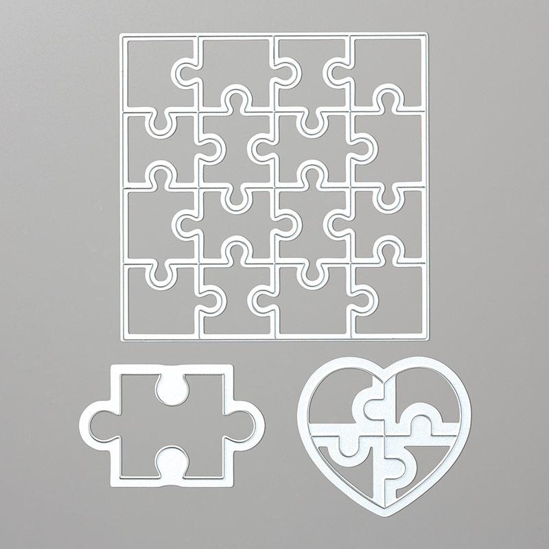 Puzzle Pieces Thinlits Dies