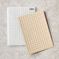 Basket Weave Dynamic Textured Impressions Embossing Folder
