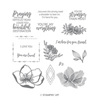 Beautiful Promenade Photopolymer Stamp Set