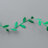 green leaf ribbon