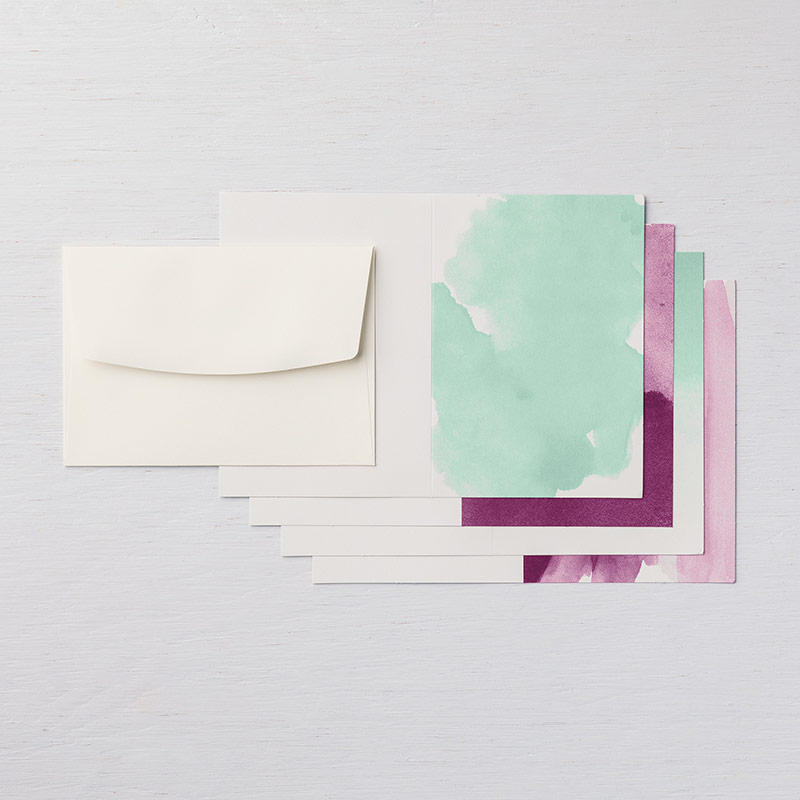 Delightfully Detailed Note Cards & Envelopes