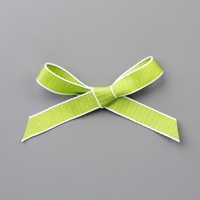 Granny Apple Green 1/2 (1.3 cm) Textured Weave Ribbon