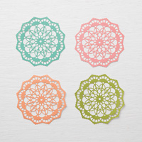 Colored Doilies