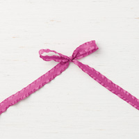 Berry Burst 3/8 (1 cm) Mini Ruffled Ribbon