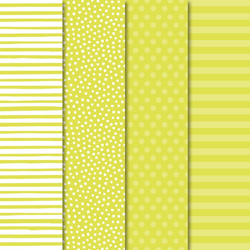"""In Color 2017–2019 6"""" x 6"""" (15.2 x 15.2 cm) Designer Series Paper"""